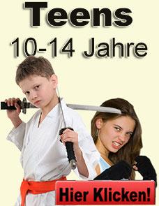Karate und Kickboxen für Jugendliche von 10-14 Jahren