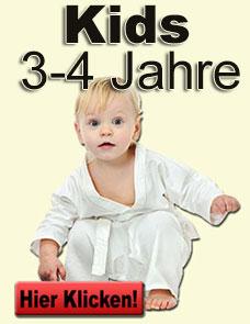 Kinderkarate von 3-4 Jahren
