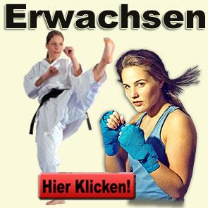 Karate und Kickboxen für Erwachsene ab 15 Jahren