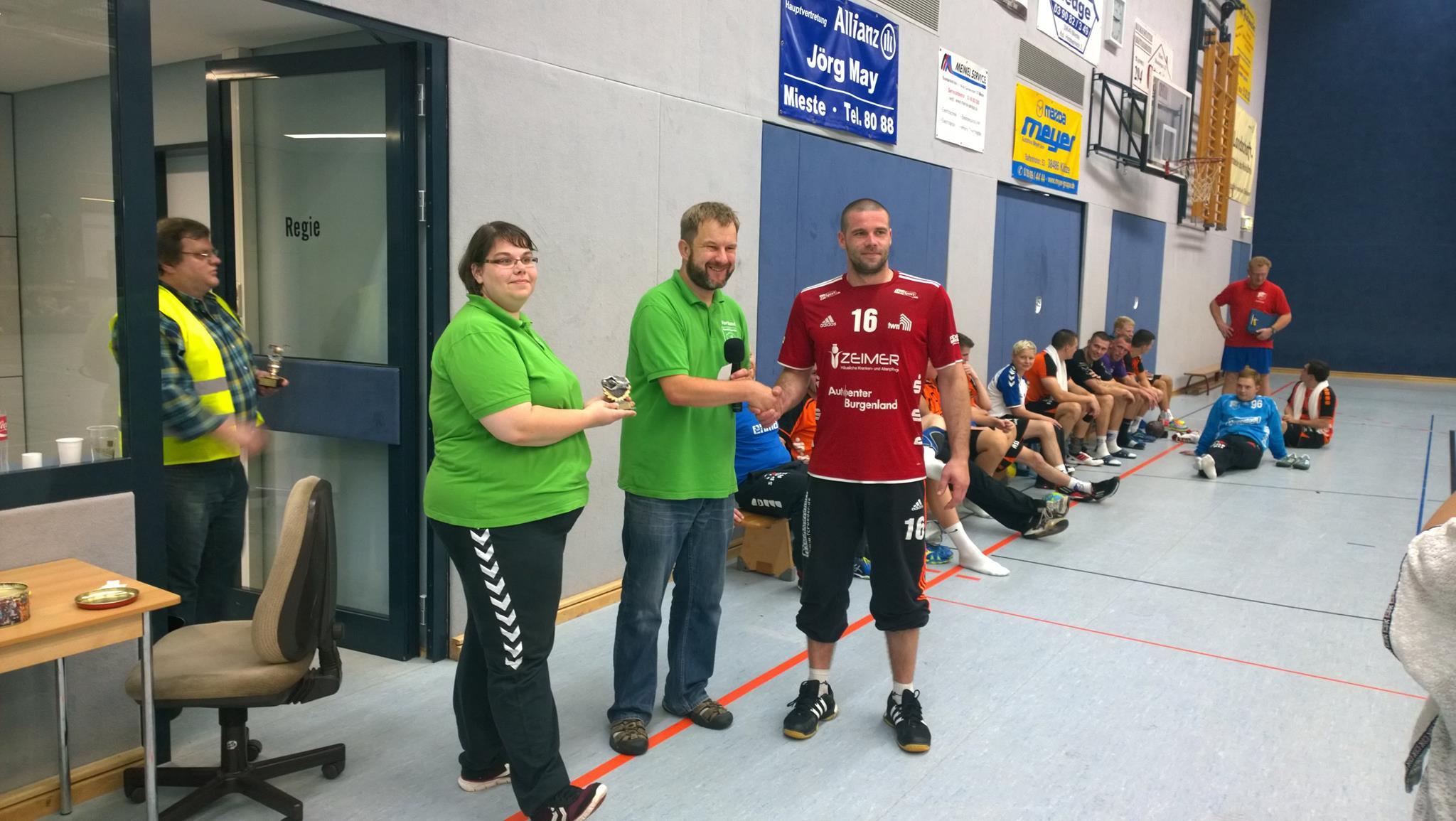 Bester Torhüter: Drese SV Oebisfelde