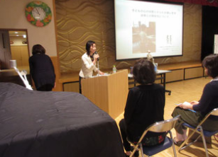PTA総会での講演