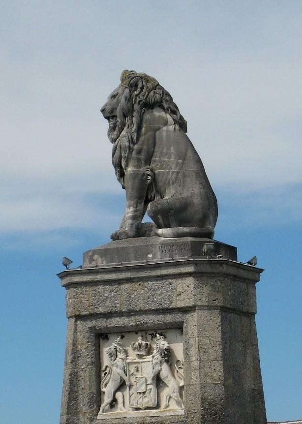 Bayrische Löwe der Stadt Lindau