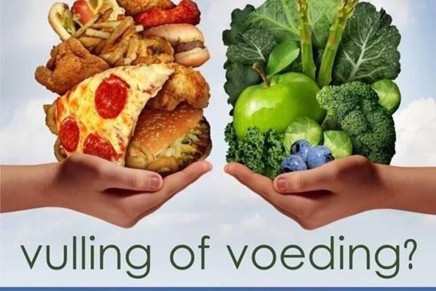 Vulling of Voeding?