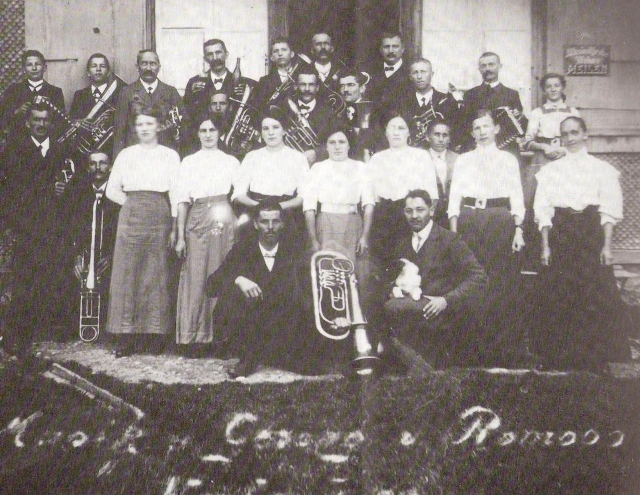 1913: Ausflug auf den Napf