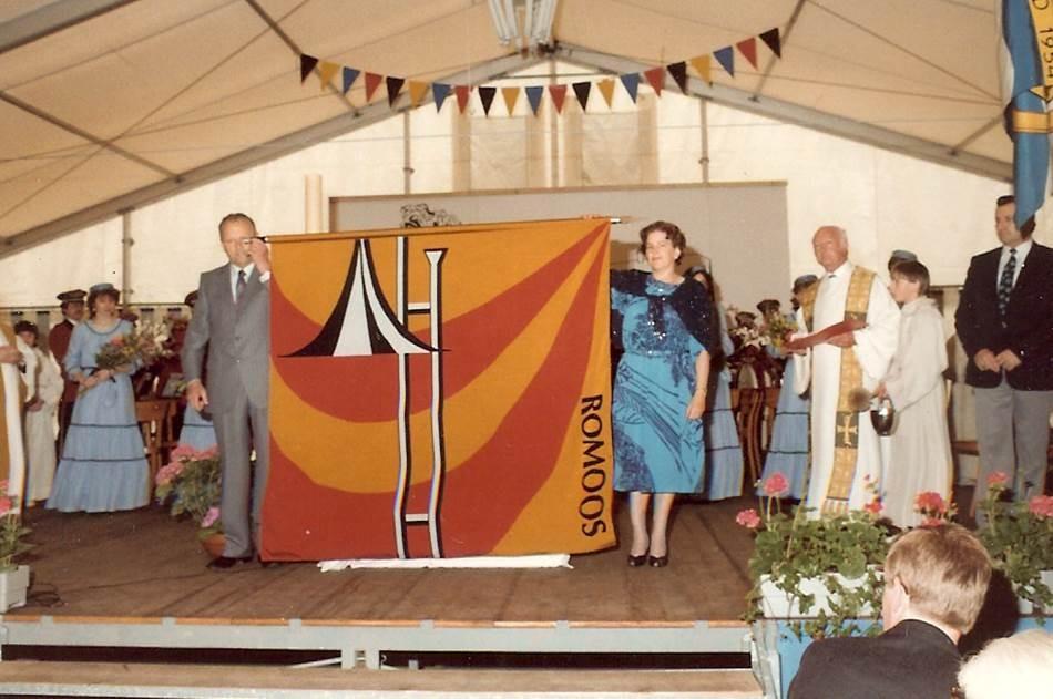 1984: Fahnenweihe; Fahnenpaten: Päuli von Holzen, Anton Lustenberger