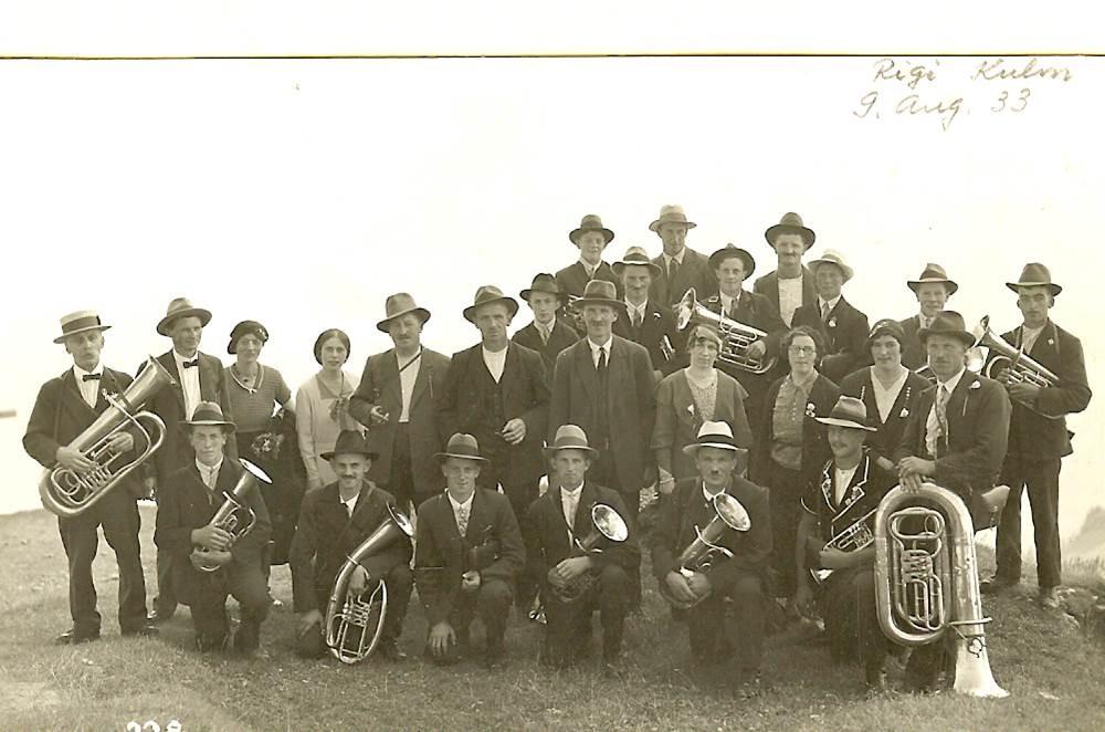 1933: Ausflug Rigi Kulm