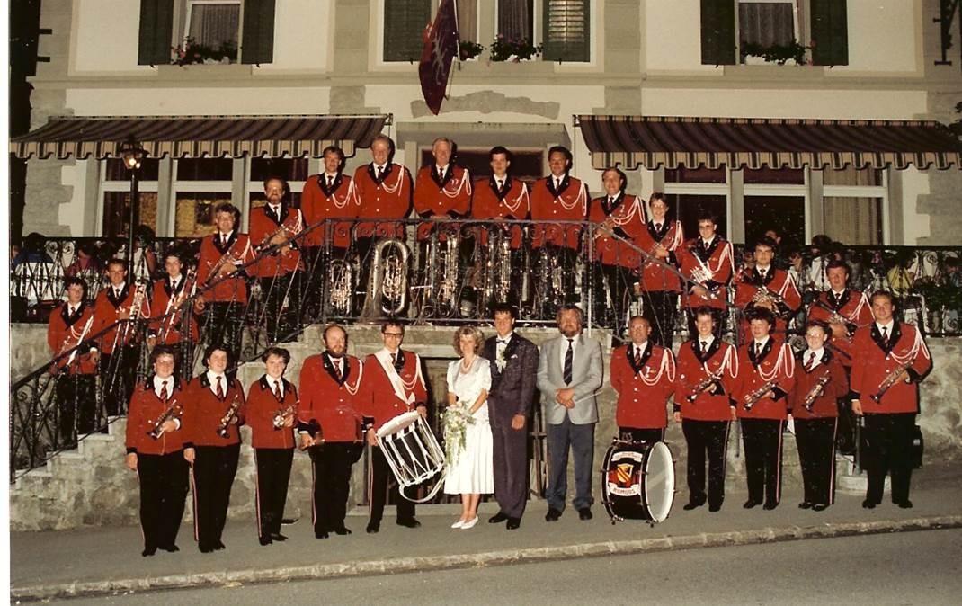 1992: Hochzeitsständli in Entlebuch; Direktion Theo Emmenegger