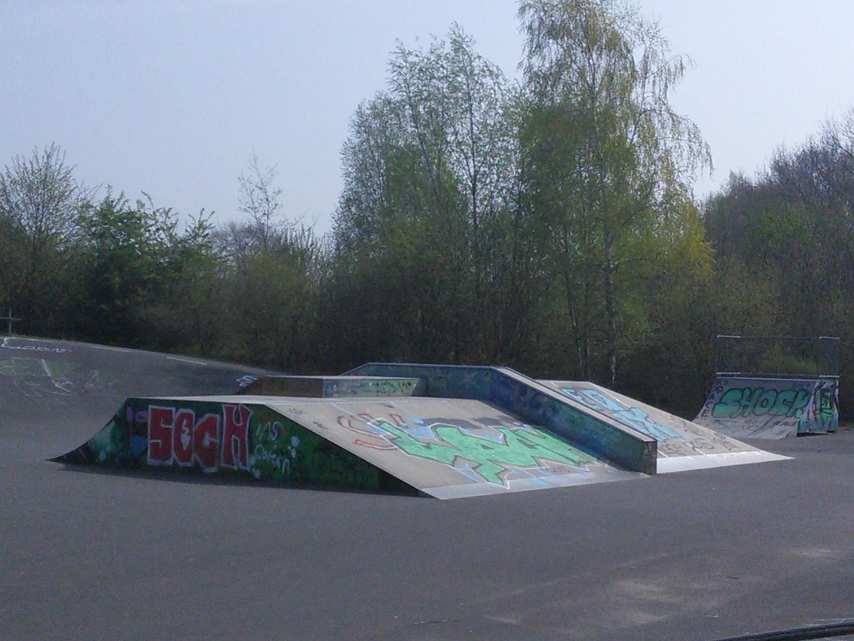 Skaterbahn Schloss Ricklingen