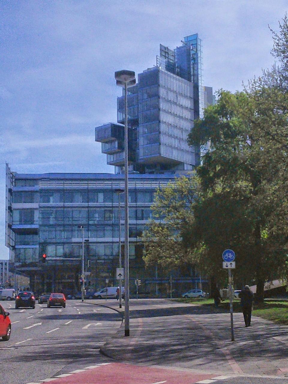Glaspalast der Norddeutschen Landesbank Hannover