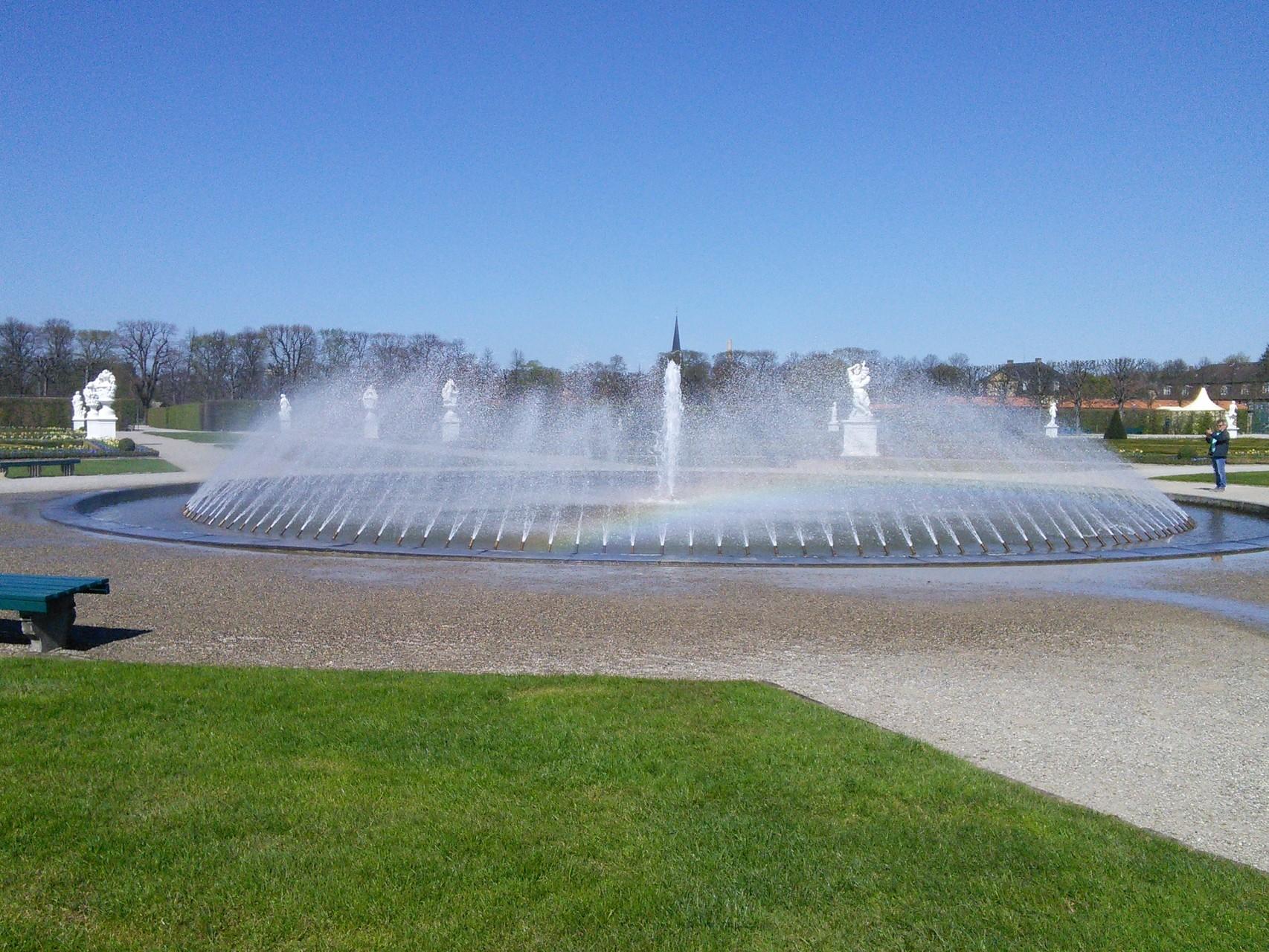Wasserspiele Großer Garten