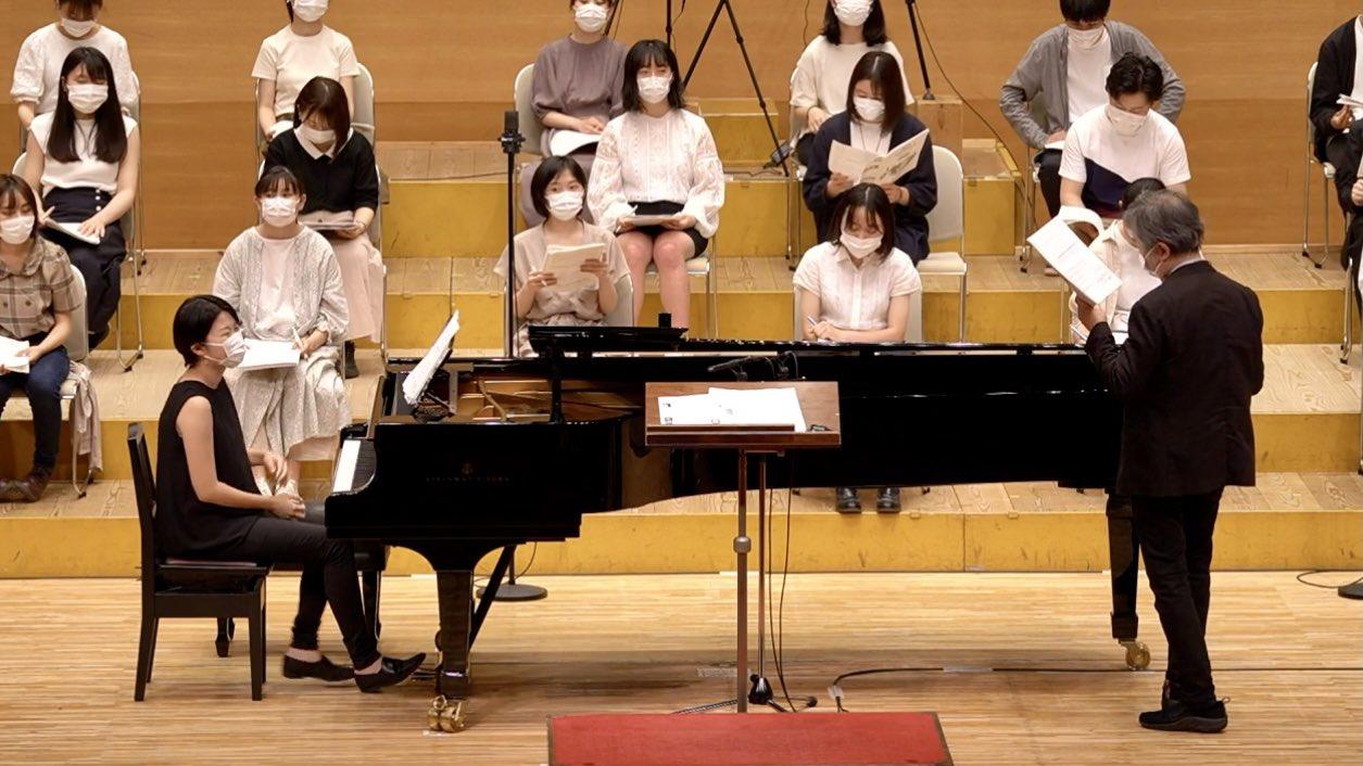 NHK全国学校音楽コンクール課題曲講習会 高等学校の部(講師:清水敬一、土田豊貴 合唱:松戸ユースクワイア)