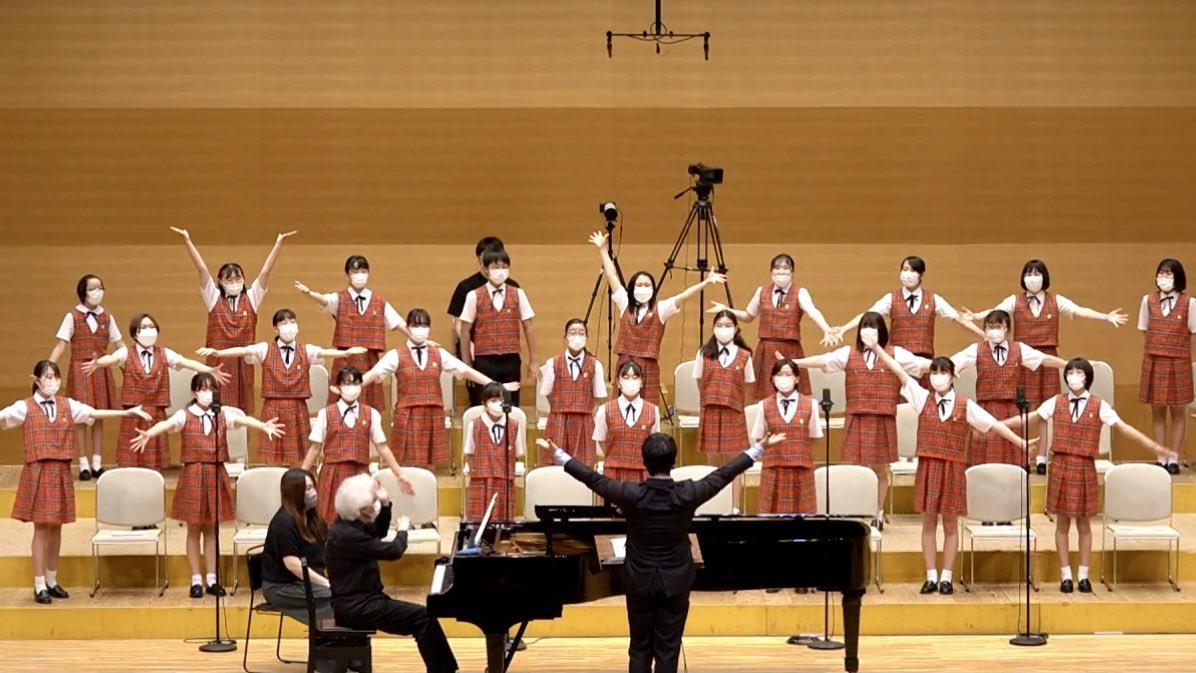 NHK全国学校音楽コンクール課題曲講習会 小学校の部(講師:藤原規生、横山裕美子 合唱:八千代少年少女合唱団)