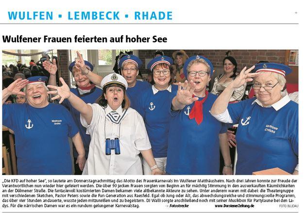 Quelle: Dorstener Zeitung, 21.02.2020