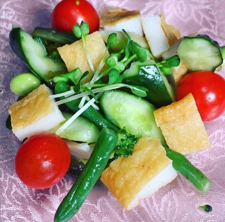 ✨今日のオススメ✨ ふわ天入りサラダ