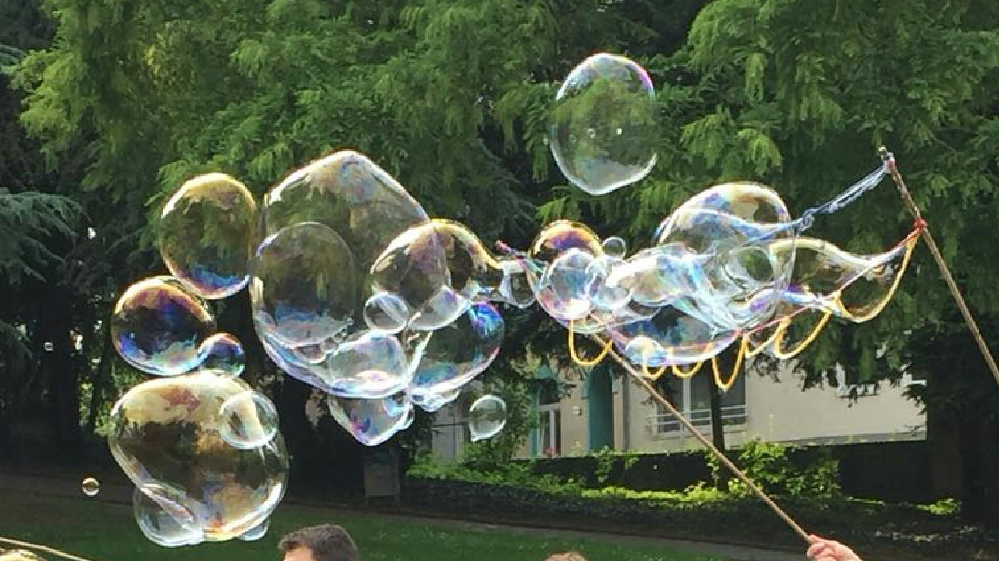Bilder Hochzeiten Seifenblasen