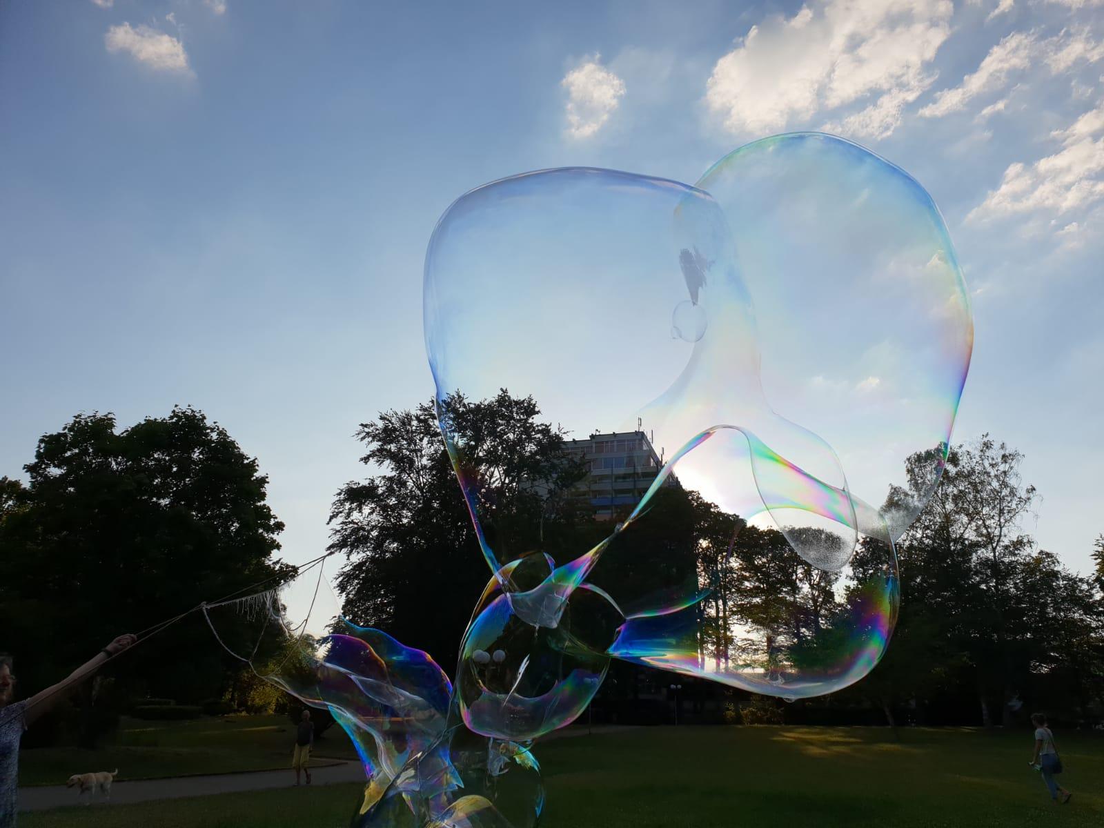 Bild Seifenblasen