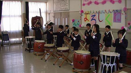 歓迎の和太鼓演奏