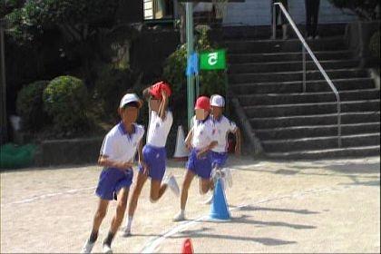4年生の徒競走