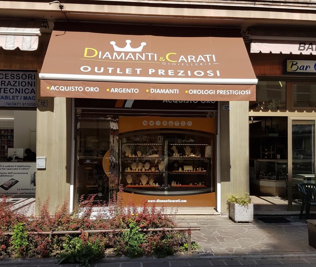 Compro oro bolzano Diamanti&Carati
