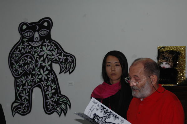 Izumi Fugiwara e Sergio Pescia