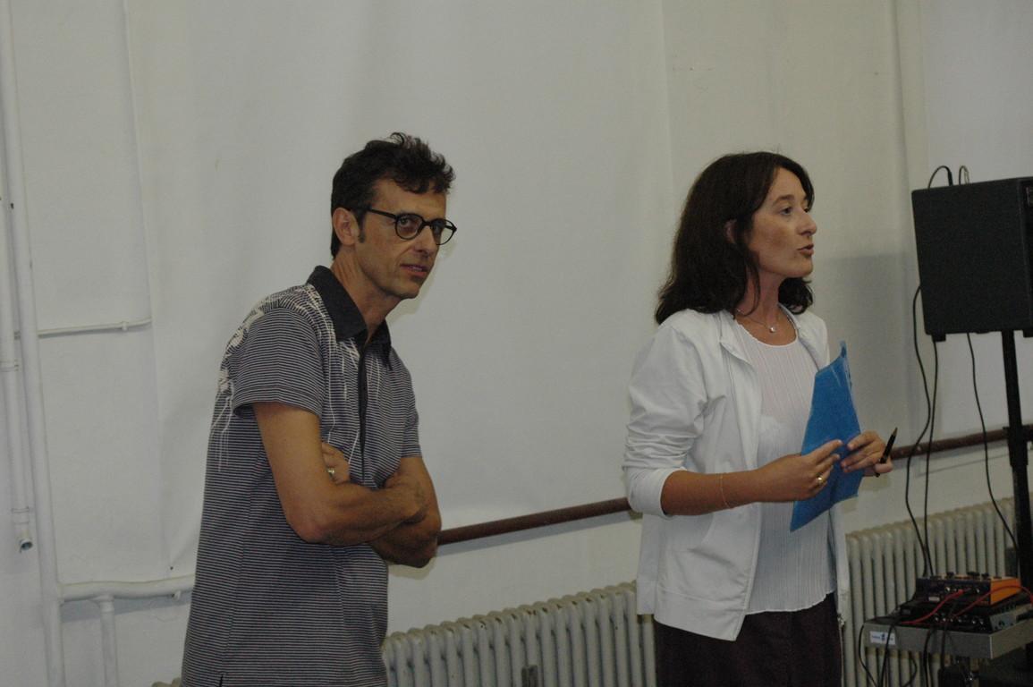 Matteo Emery e Simona Ostinelli