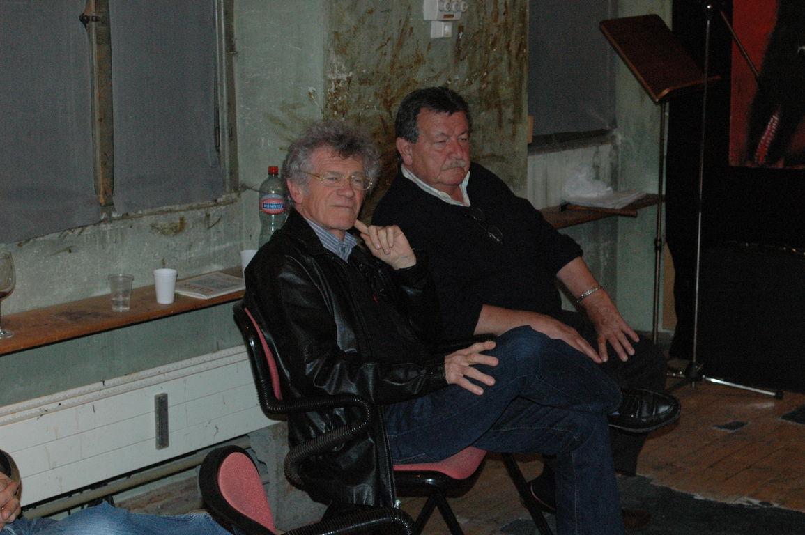 Alberto Nessi e Claudio Origoni