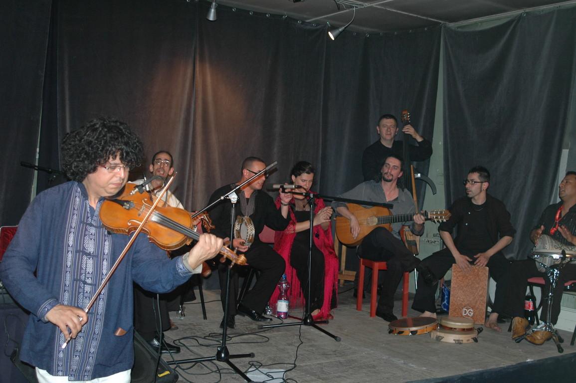 Jamal Ouassini e Tangeri Café Orchestra