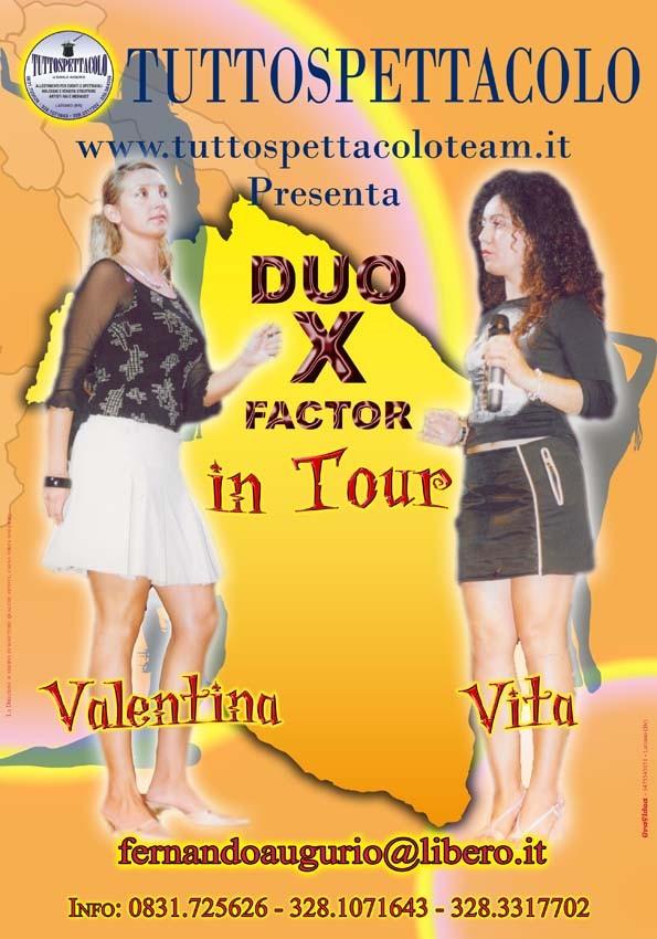 DUO X FACTOR E LA BAND ITALIANA