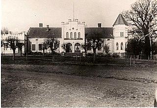 Gutshaus Anker in Baiersfelde-Gr. Bajohren, Photo: Joachim Anker