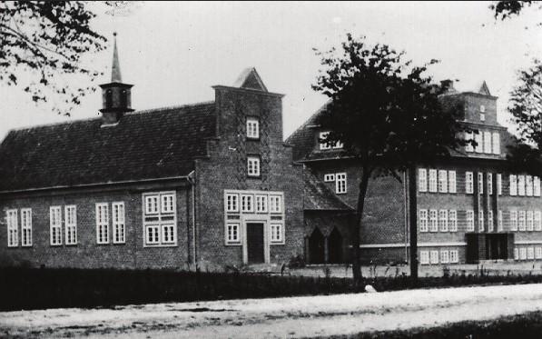 Die Kriegserlebnisse von Dr. Langejürgen spielten sich u.a. im Keller der Kreuzburger Schule ab