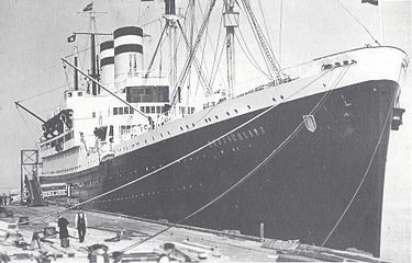 Dampferschiff Deutschland-70.000 Flüchtlinge wurden damit über die Ostsee gebracht