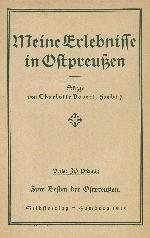 Diverse Literatur zu Ostpreußen meist 1. WK1914-1918