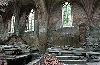 Gewölbe im Kirchenschiff