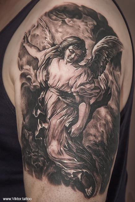 Tattoo by Konstantin Vorobjev