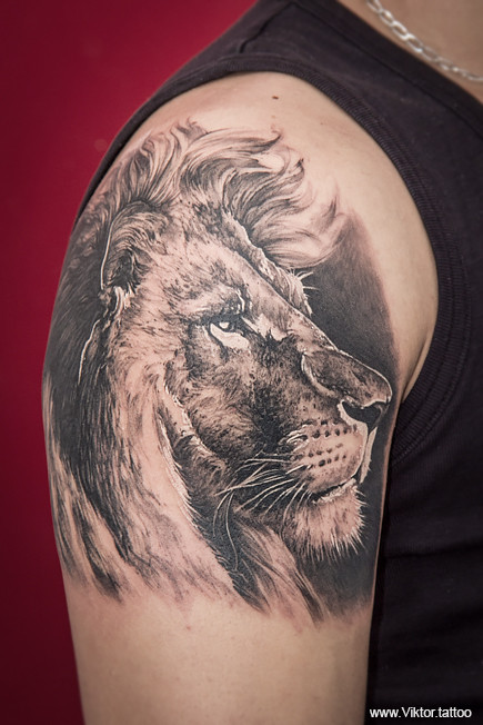 Tattoo by Konstantin Vorobjev