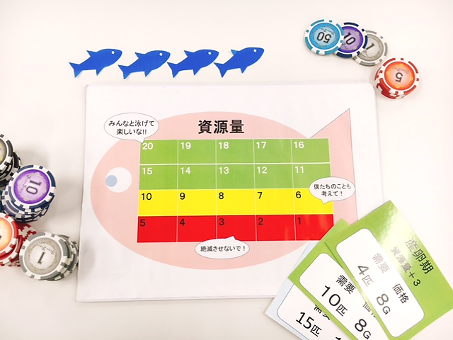 漁師体験型ゲーム