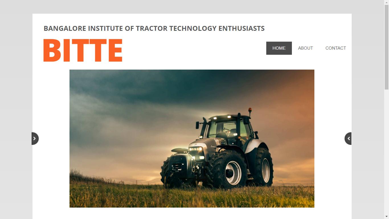 Internet-Seite von BITTE
