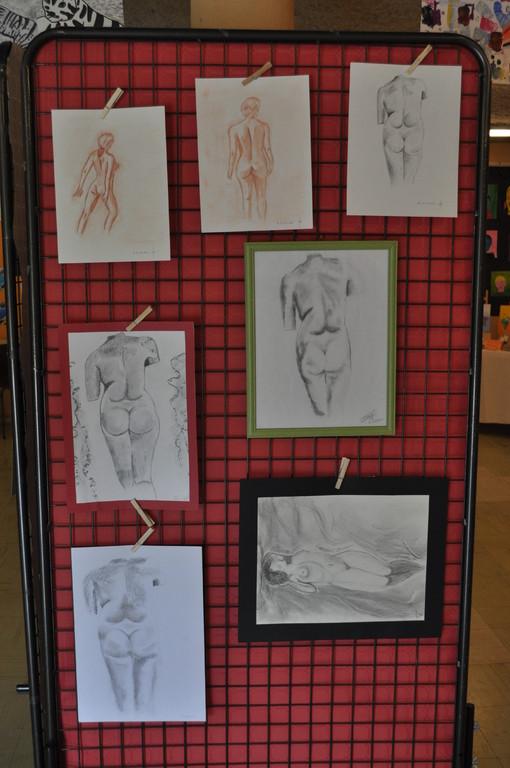 crayons de Maurice, Maurina, Lucye, Marley, Romain