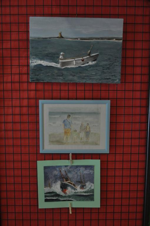 oeuvres de Françoise, Maurina et Maurice