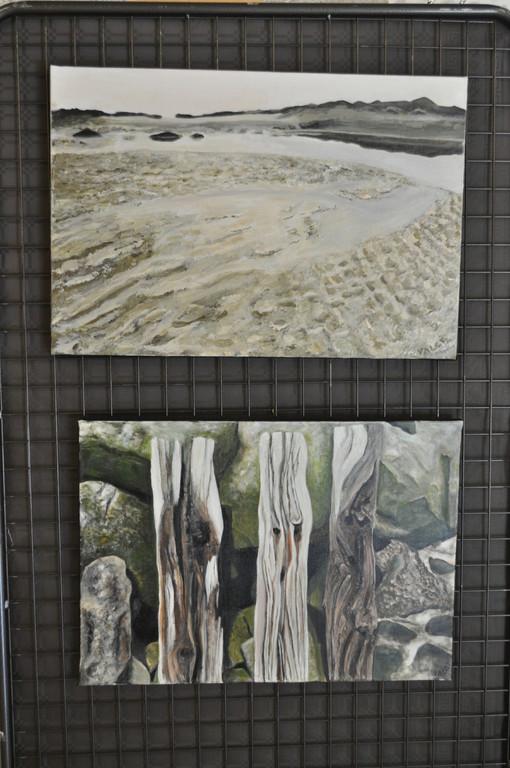 Oeuvres de Françoise acrylique
