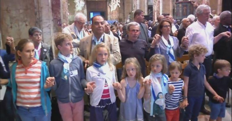 Veglia di preghiera in San Luigi dei Francesi