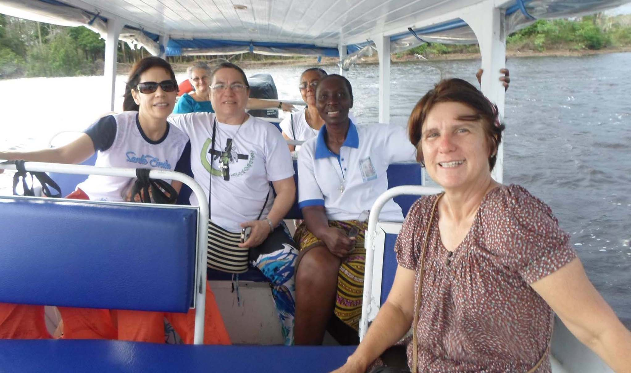 Amazonia: Rosangela e M. Béatrice