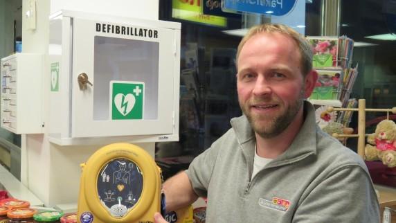 Neu! Unser hauseigener Defibrillator