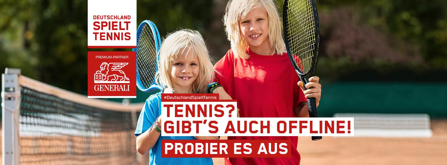 """Aktion """"Deutschland spielt Tennis"""""""