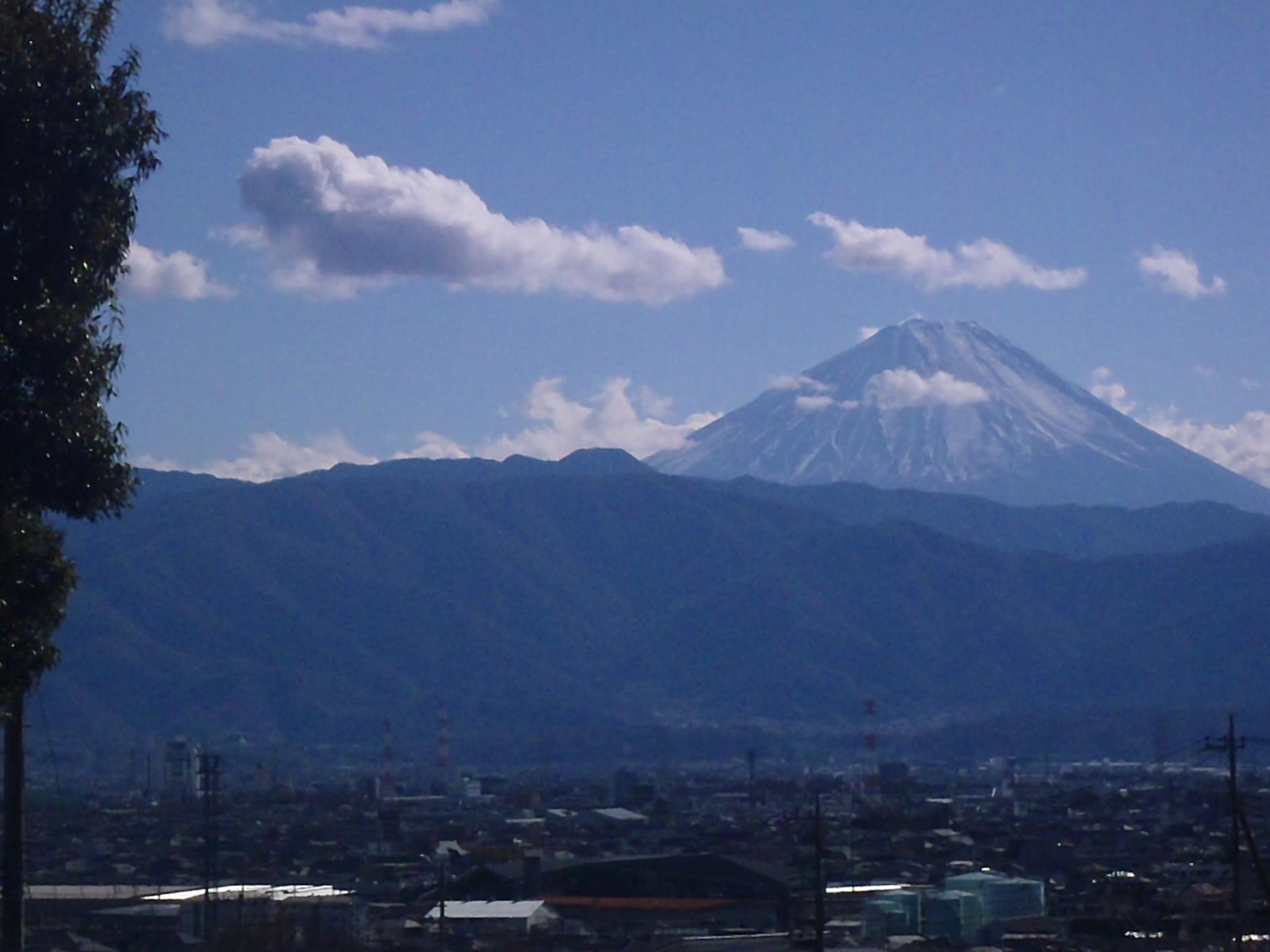 天気にも恵まれ、きれいな富士山が見えました