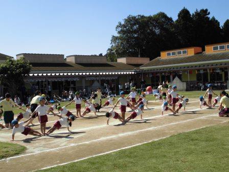年長組 組立体操2