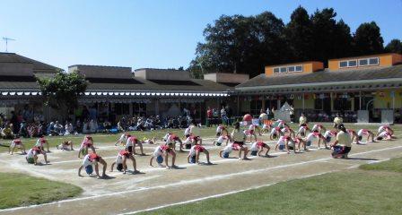 年長組 組立体操1