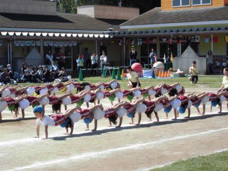 年長組 組立体操3