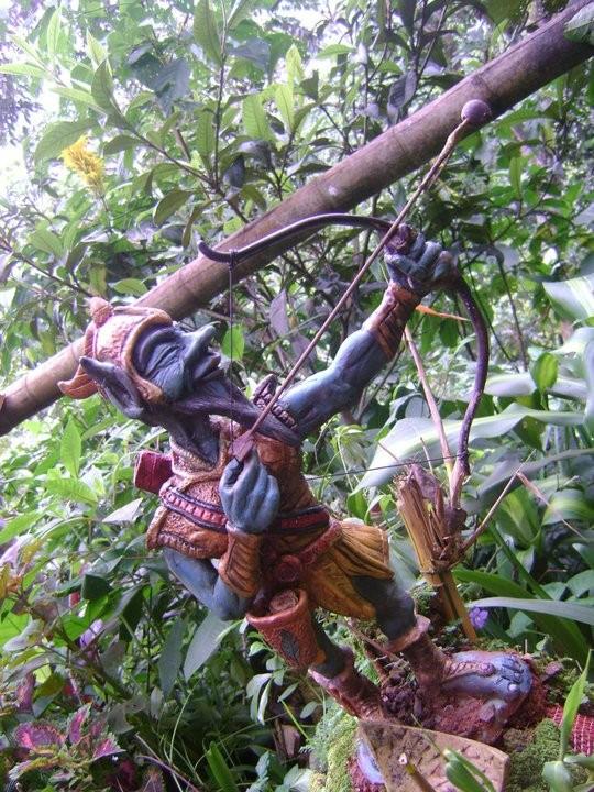 Kercus el arquero, guardian de los cultivos