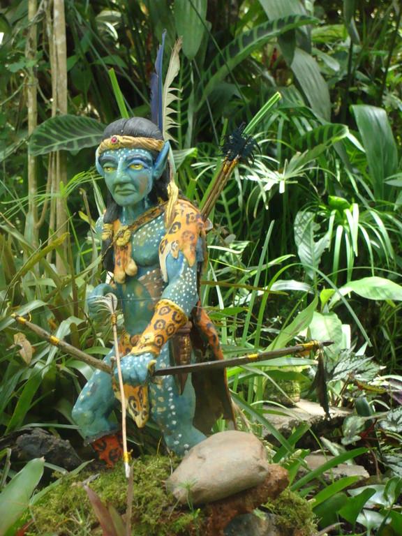 Siete Flechas, avatar guardian de la madre agua.
